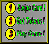 Sqipe Card, Get Tokens, Play Game